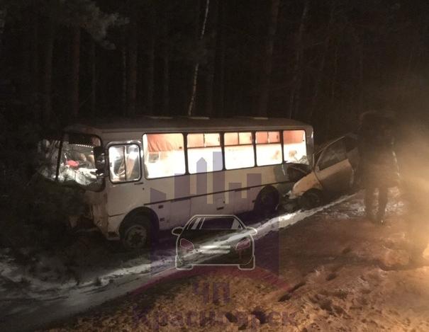 В Красноярске в ДТП с автобусом погибли две девушки