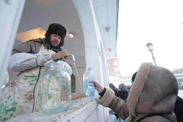 В Красноярске отмечают Крещение