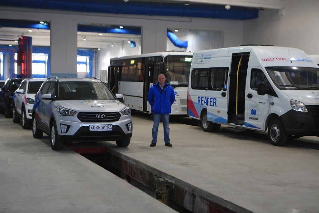 Александр Усс: «Половина автобусов Универсиады останутся Красноярску»