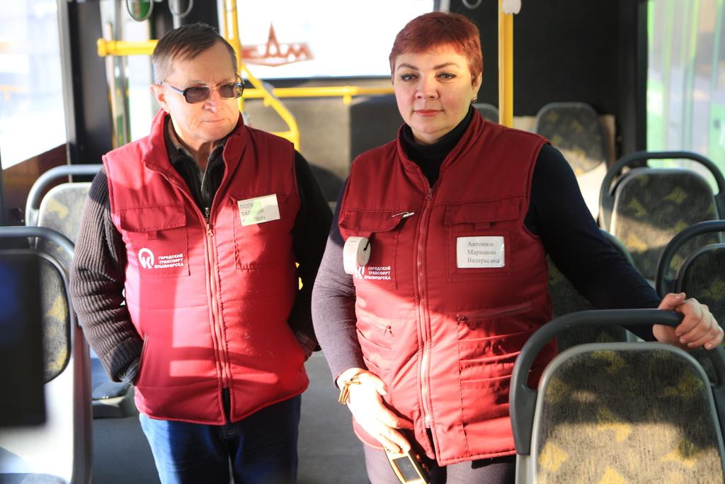 Красноярским автобусам добавили бренда