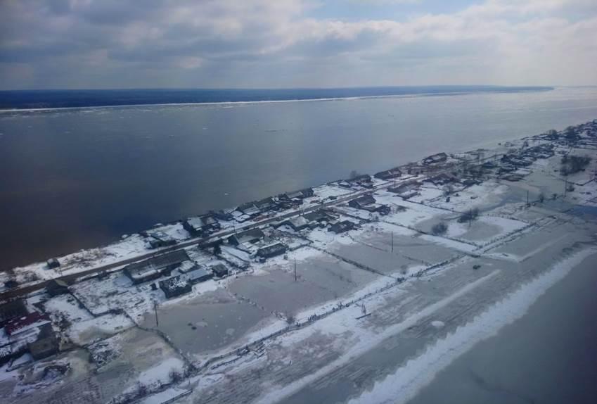 Жители посёлка Ворогово Красноярского края возвращаются в свои дома