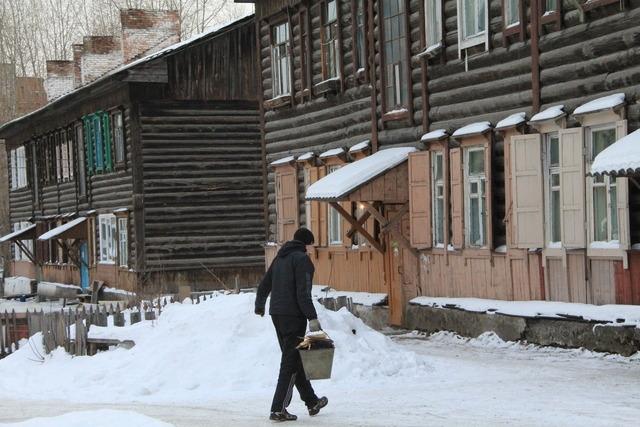 В Красноярске снесут аварийные дома на правобережье
