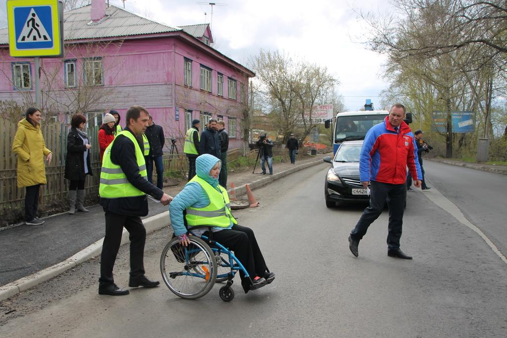 В Красноярске более 520 объектов стали доступными для инвалидов