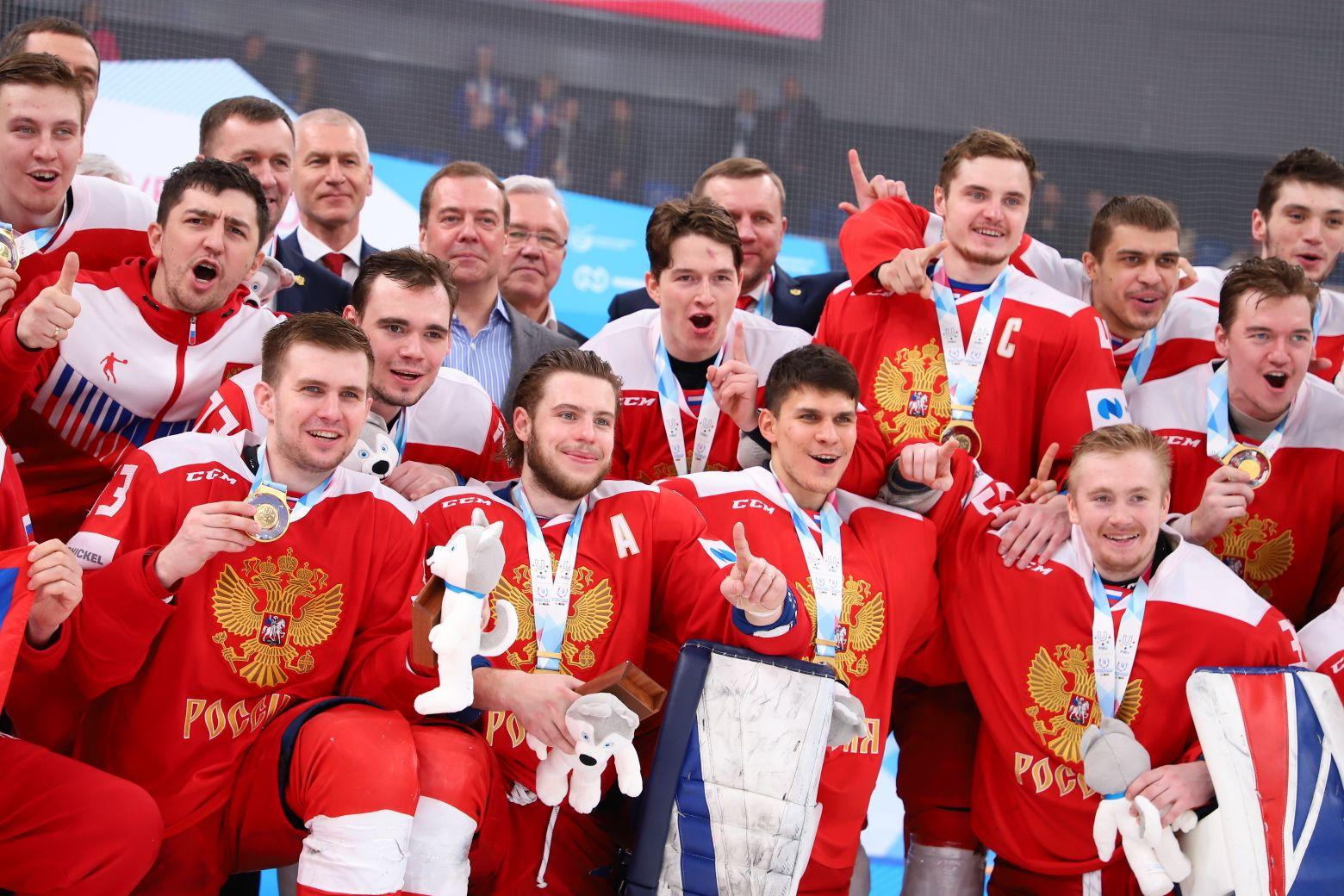Российские хоккеисты взяли золото Универсиады-2019