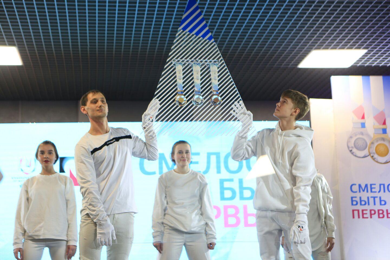 Медали универсиады привезли в Красноярск