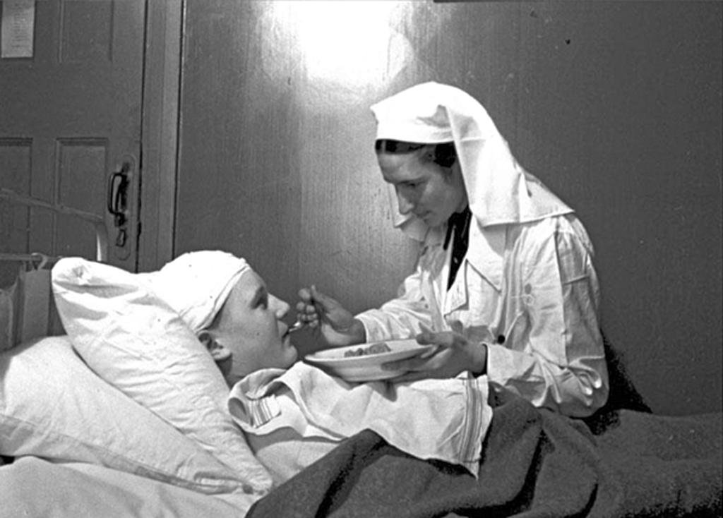 Во время Великой Отечественной войны в Красноярской школе №36 был эвакогоспиталь