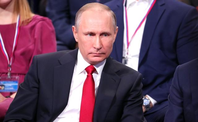 Президент России Владимир Путин прибыл в Красноярск