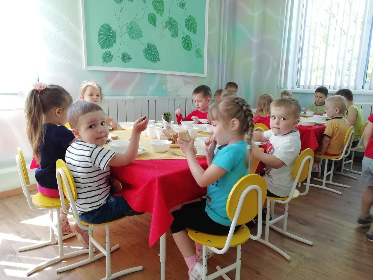 В Красноярске в детском саду открыли детский ресторан