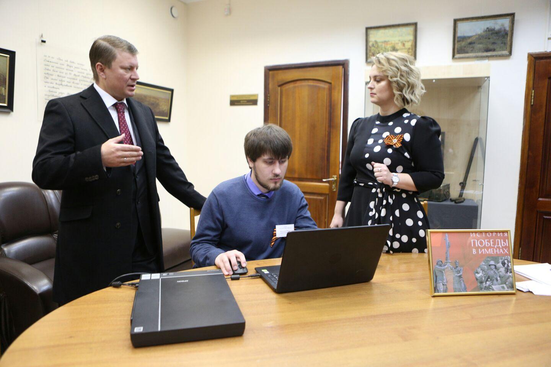 Сергей Ерёмин стал первым участником акции «История Победы в именах»