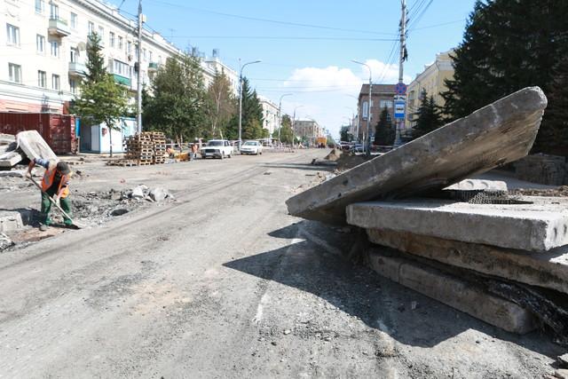 В Красноярске новый ремонт на Мира обойдется в 164 миллиона рублей