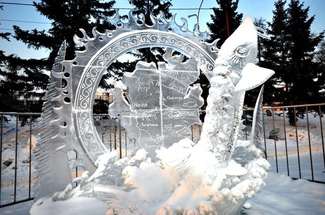 В Красноярск съедутся художники по льду и снегу
