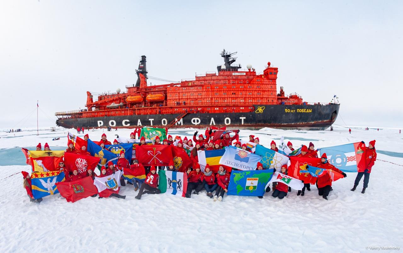 Красноярский школьник вернулся из арктической экспедиции