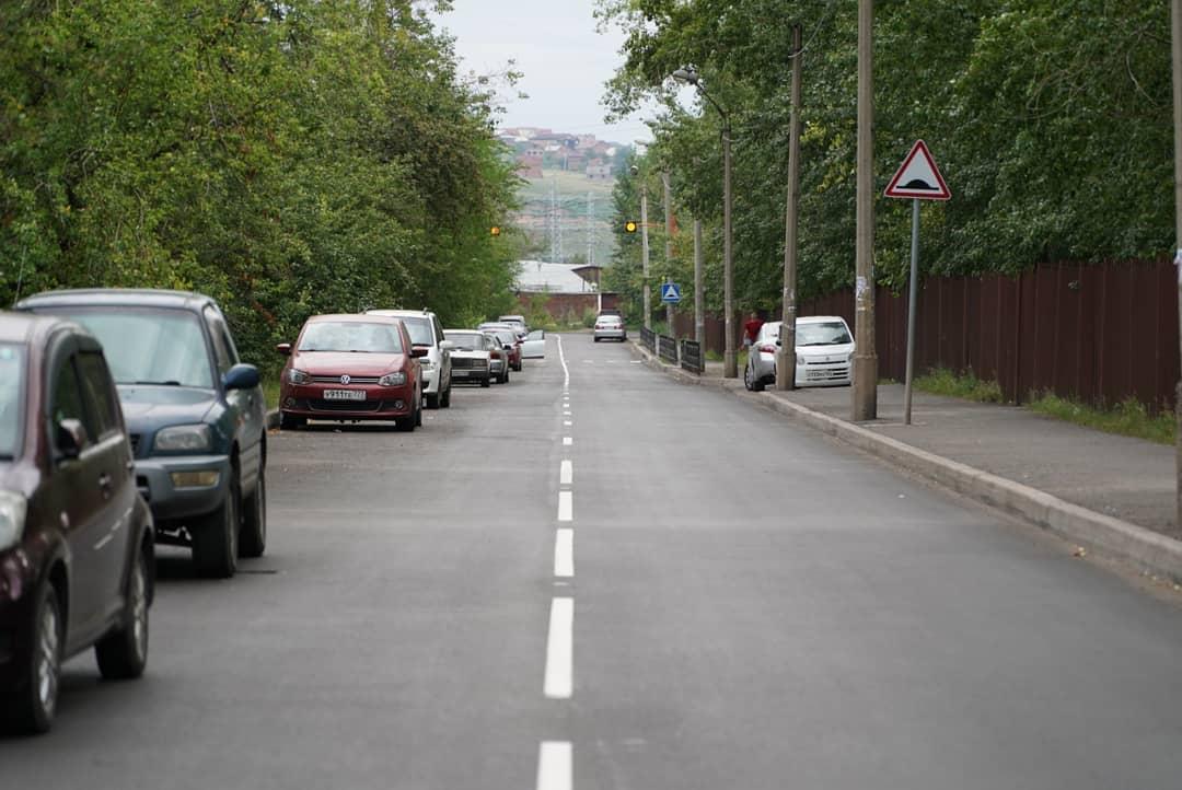 В Красноярске полностью отремонтировали три улицы