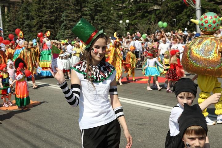 В Красноярске продолжают отмечать День города