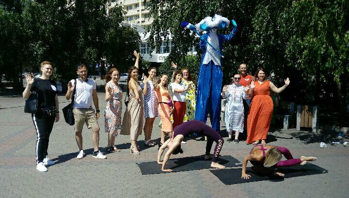Красноярцев приглашают на йогу, вечера хастла и шоу ходулистов