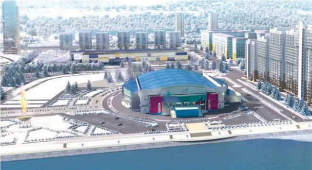 В Красноярске завершено строительство комплекса для церемонии открытия Универсиады