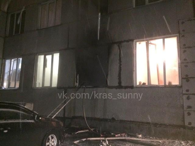"""В пожаре в """"Солнечном"""" полностью выгорела квартира"""