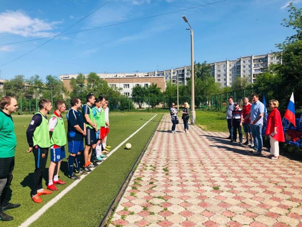 В Кировском районе в День России состоялся турнир по мини-футболу на призы «Единой России»