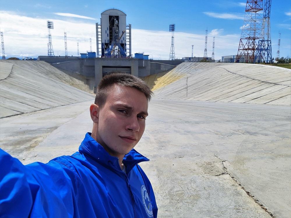 Красноярские студенты-решетневцы побывали на запуске ракеты-носителя «Союз-2.1б»