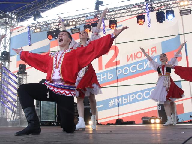 Как Красноярск отметил День города