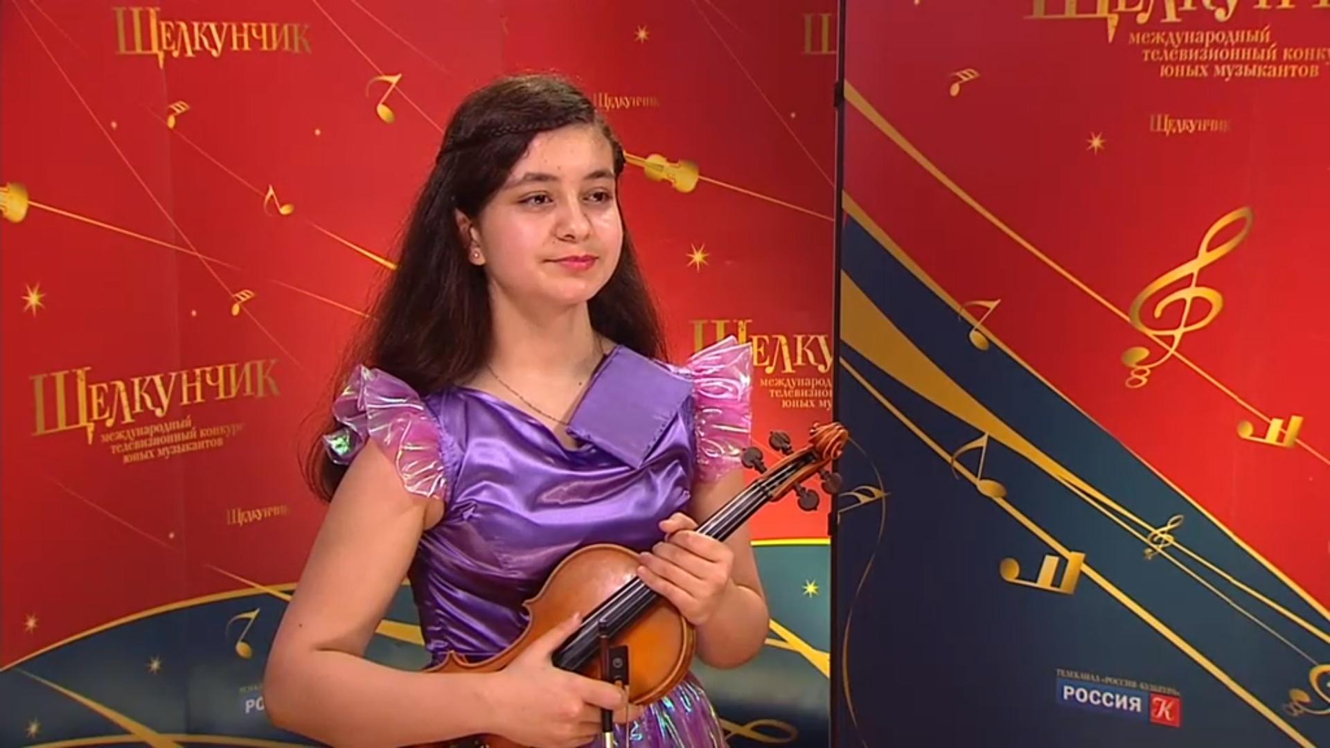 Скрипачка из Красноярска Лейла Бабаева выступила на Международном конкурсе юных музыкантов «Щелкунчик»