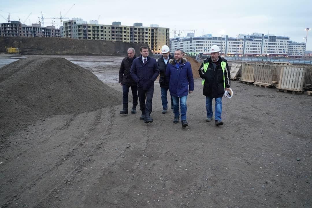 Аквапарк в Красноярске начнет работу во втором квартале 2022 года