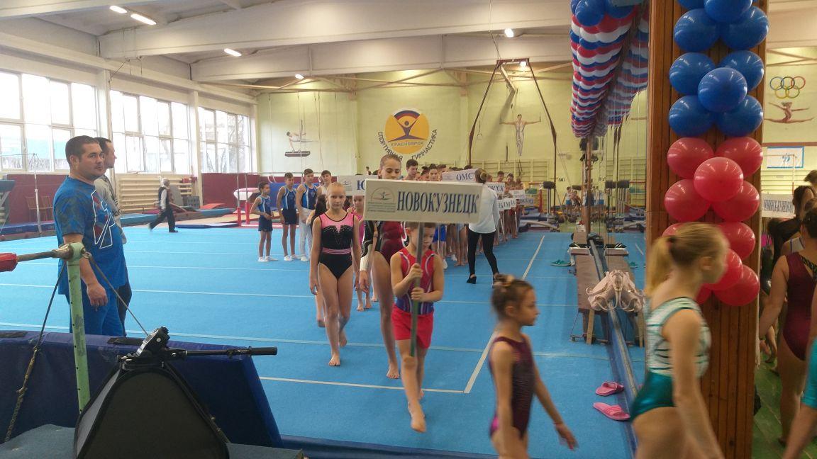 В Красноярске стартовал турнир по гимнастике памяти Елены Наймушиной