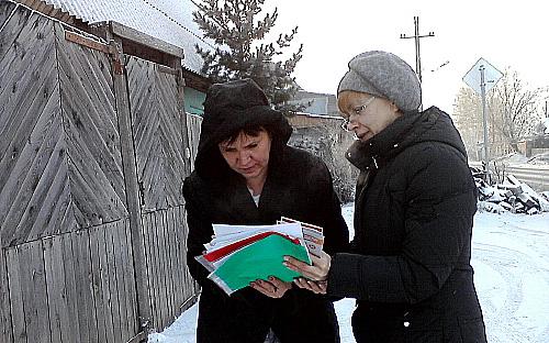 В частном секторе Красноярска проверяют печи и электропроводку