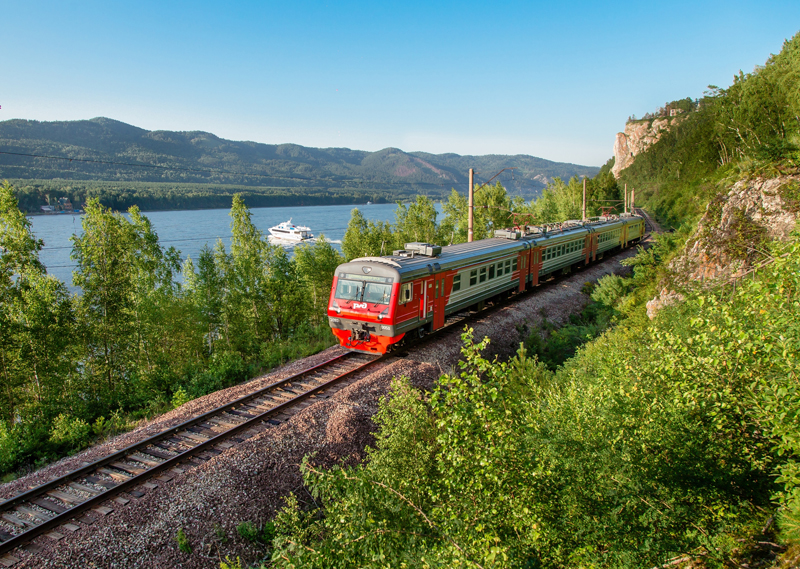 Из Красноярска в Дивногорск отправится экскурсионная электричка