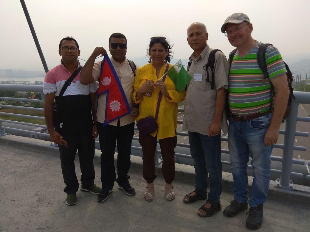 Гости из Непала поделились впечатлениями о Красноярске: интервью