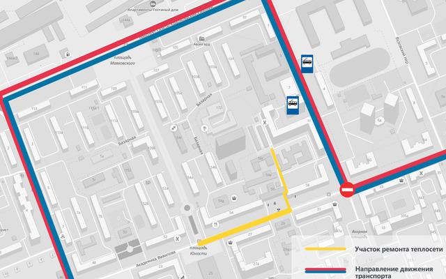 Улица Вавилова будет закрыта для автотранспорта до 8 июля