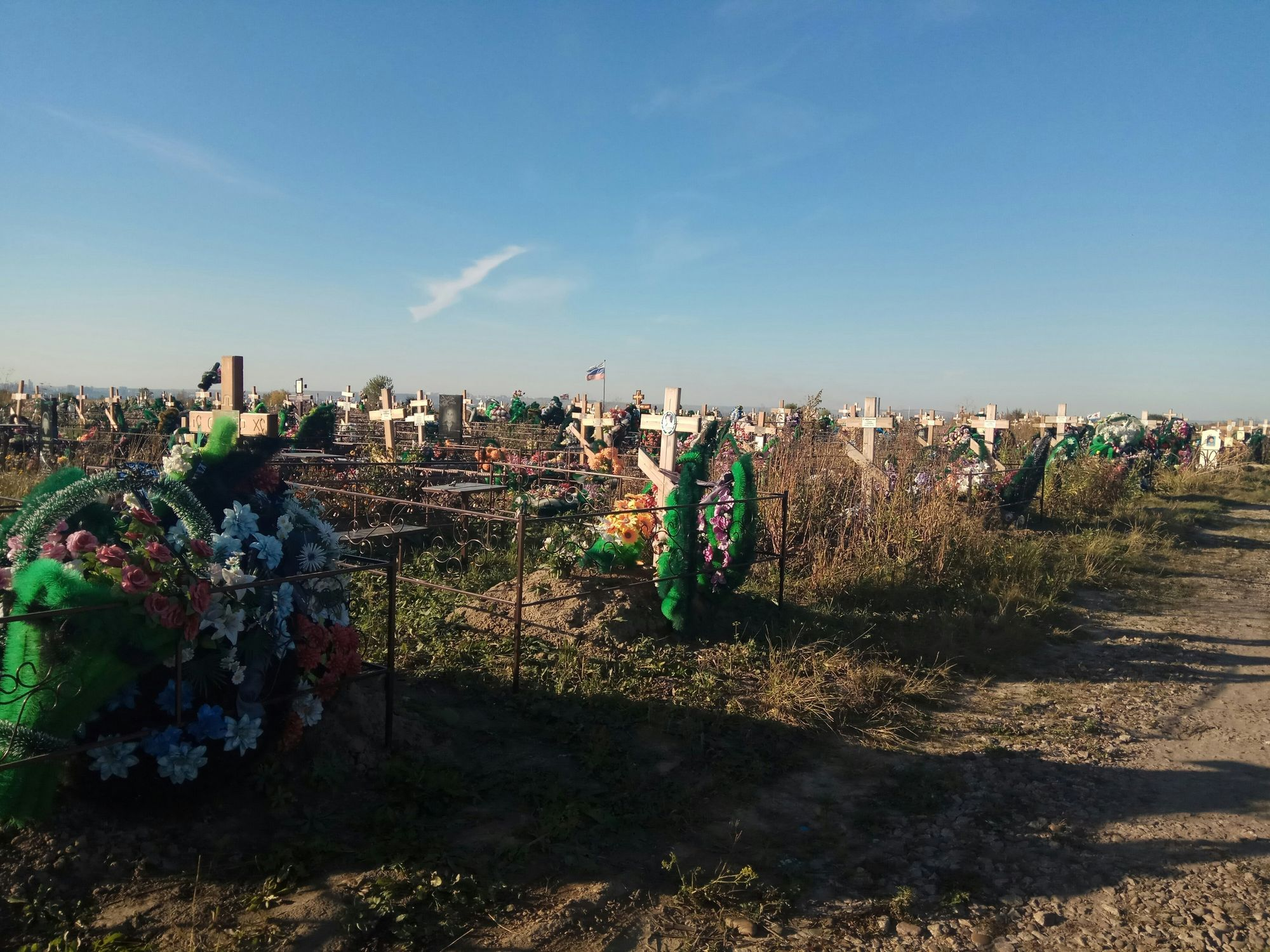Власти Красноярска назвали два возможных участка под новое кладбище