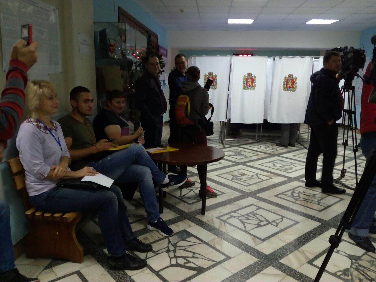 В Красноярске открылись избирательные участки