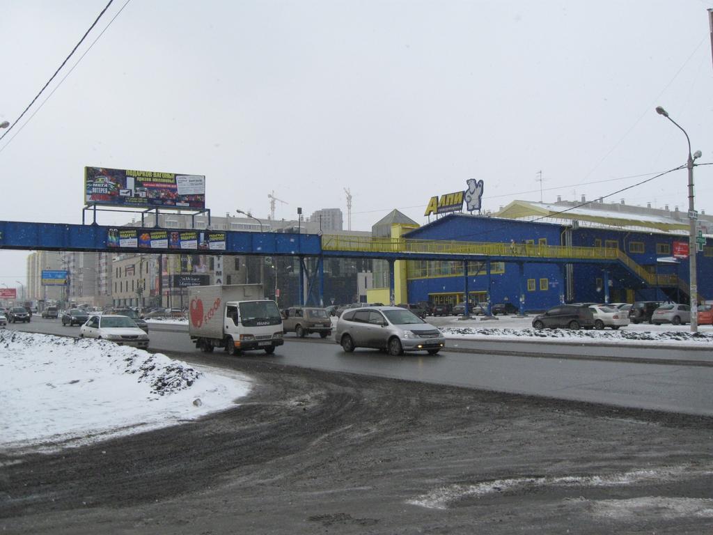 Улицу Молокова в Красноярске будут перекрывать по ночам