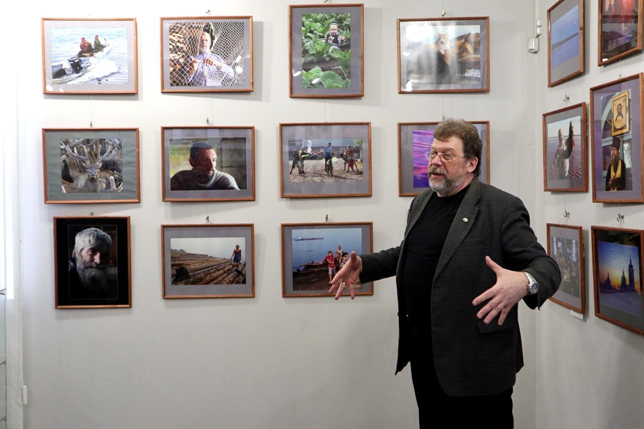Красноярцев пригласили на встречу с фотохудожником Виталием Ивановым