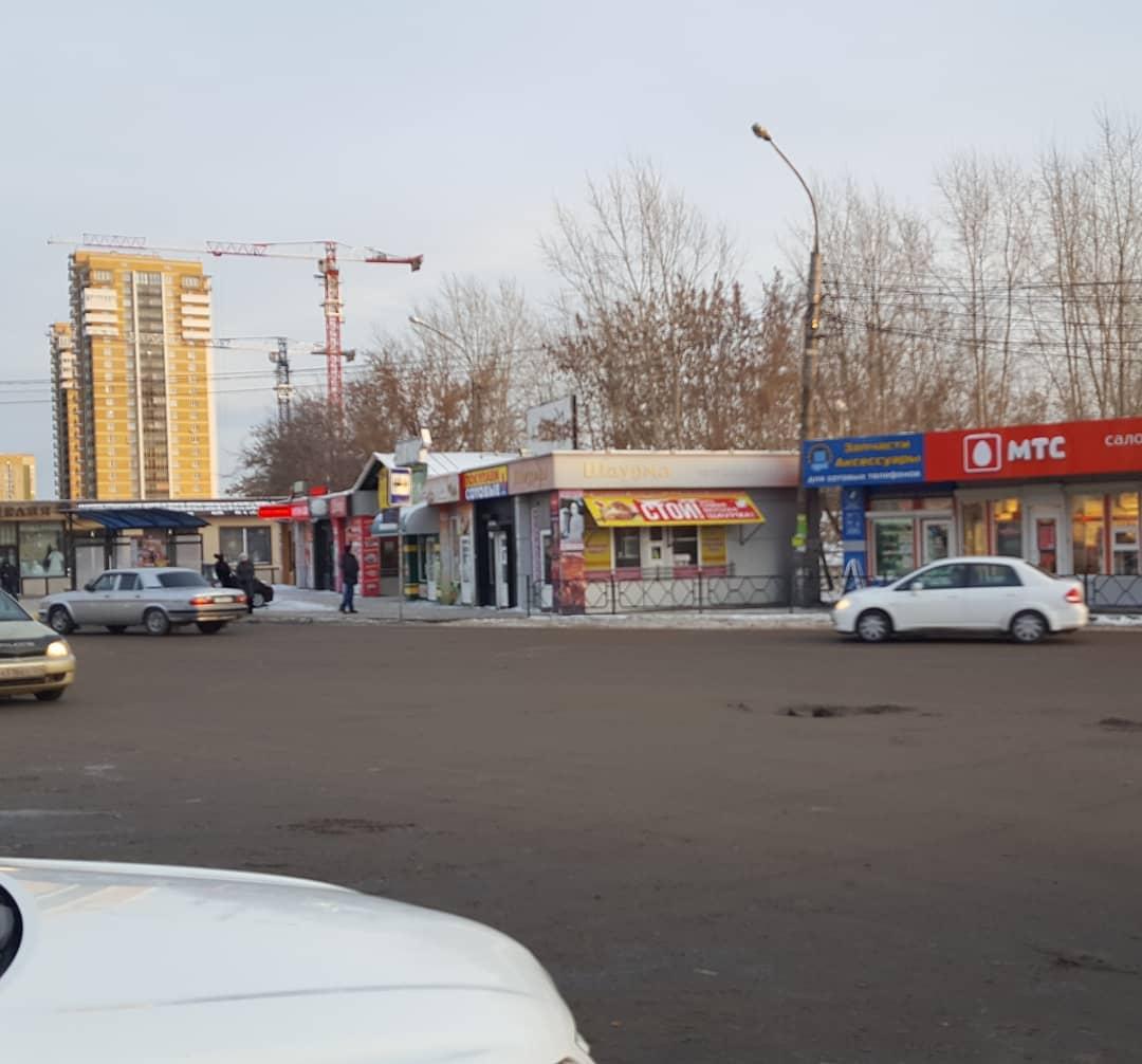 В Красноярске снесут павильоны около автовокзала