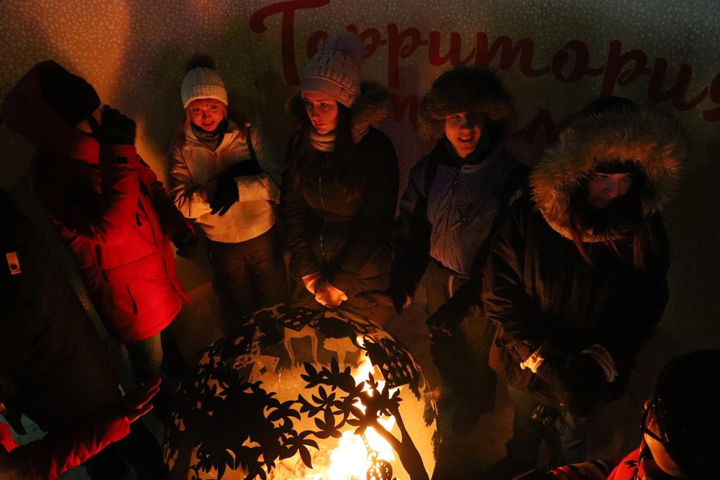 В Новогоднюю ночь краснояцев ждёт мороз и ветер