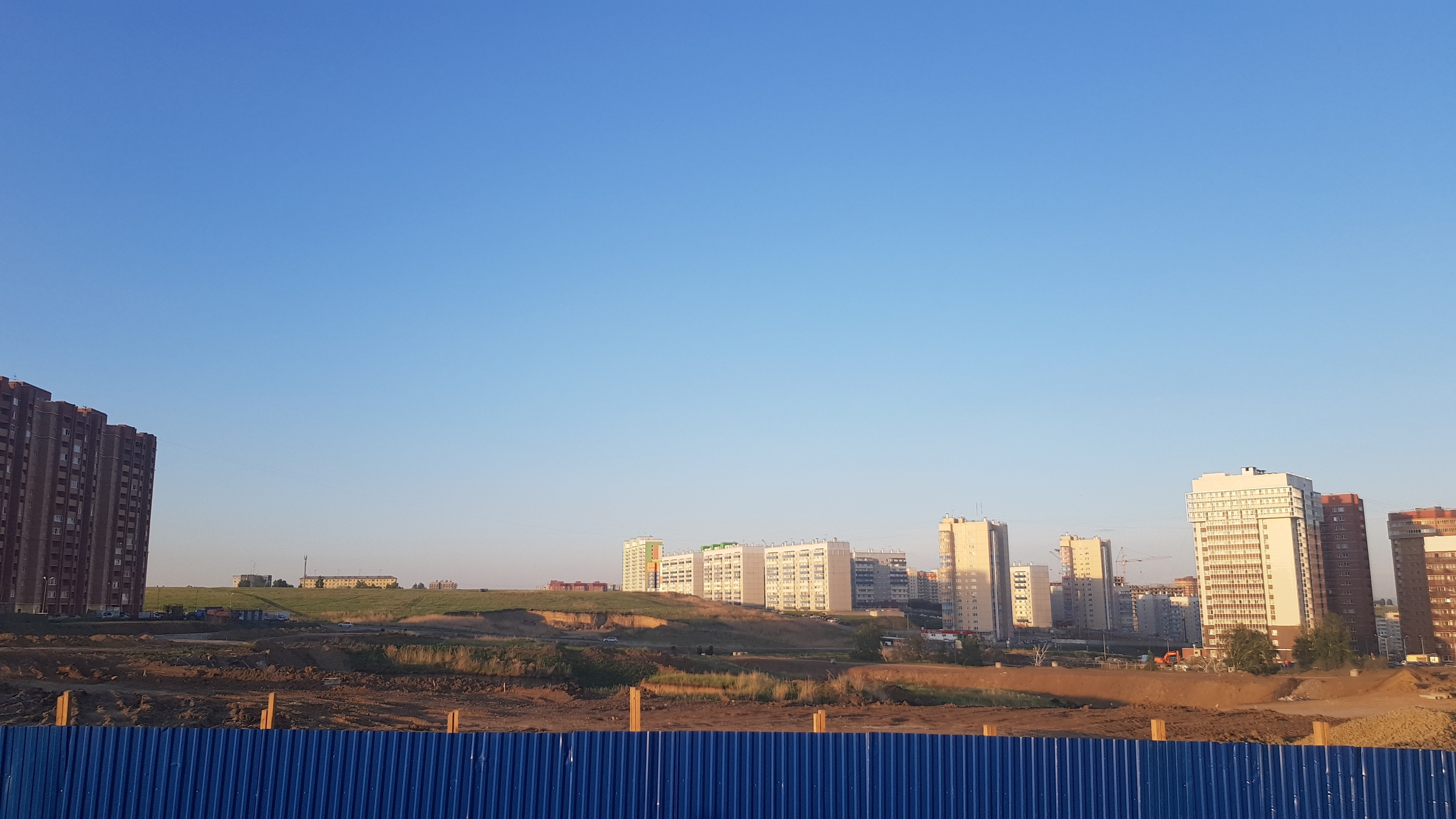 В Красноярске в Солнечном построят парк