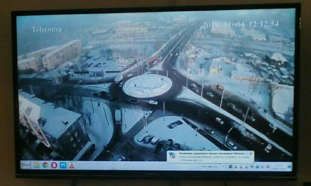 В Красноярске на улицах правобережья внедряют систему управления дорожным движением
