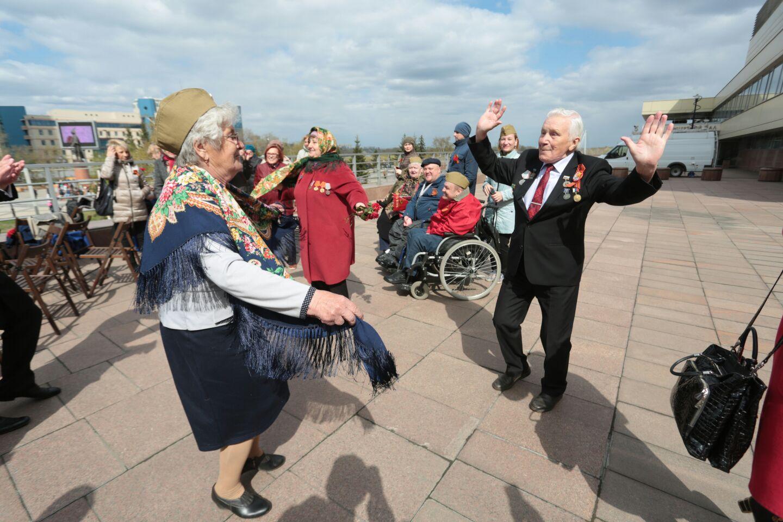 Лица города: как красноярцы встречают День Победы