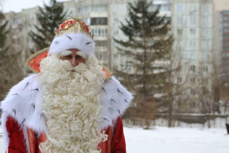 Дед Мороз из Великого Устюга приехал в Красноярск на два дня