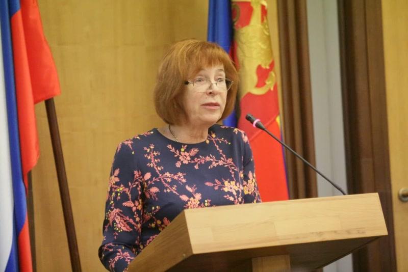 """Председатель горсовета Наталия Фирюлина : """"Результат выборов, я считаю, является признаком прежде всего политический стабильности в городе и крае."""""""
