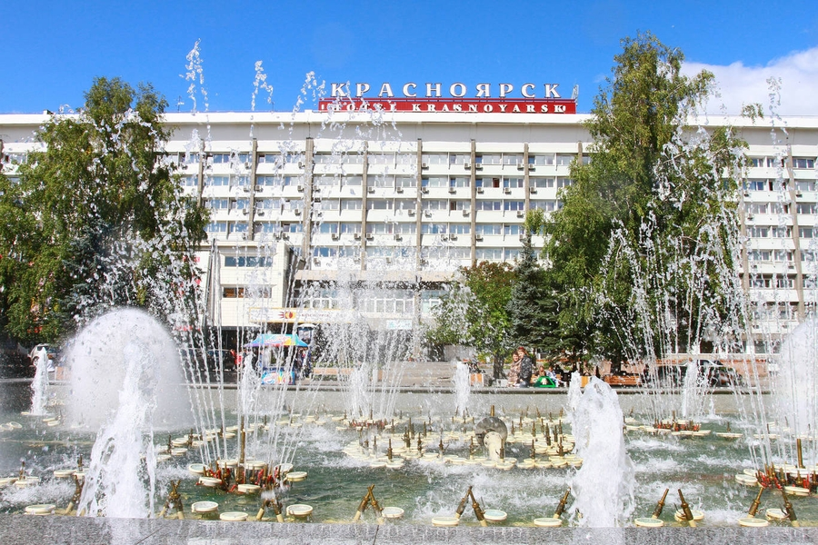 Красивые места для прогулок в Красноярске