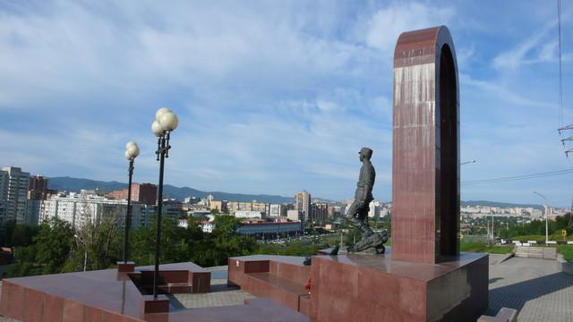 В 1994 году в Красноярске был открыт памятник воинам-интернационалистам