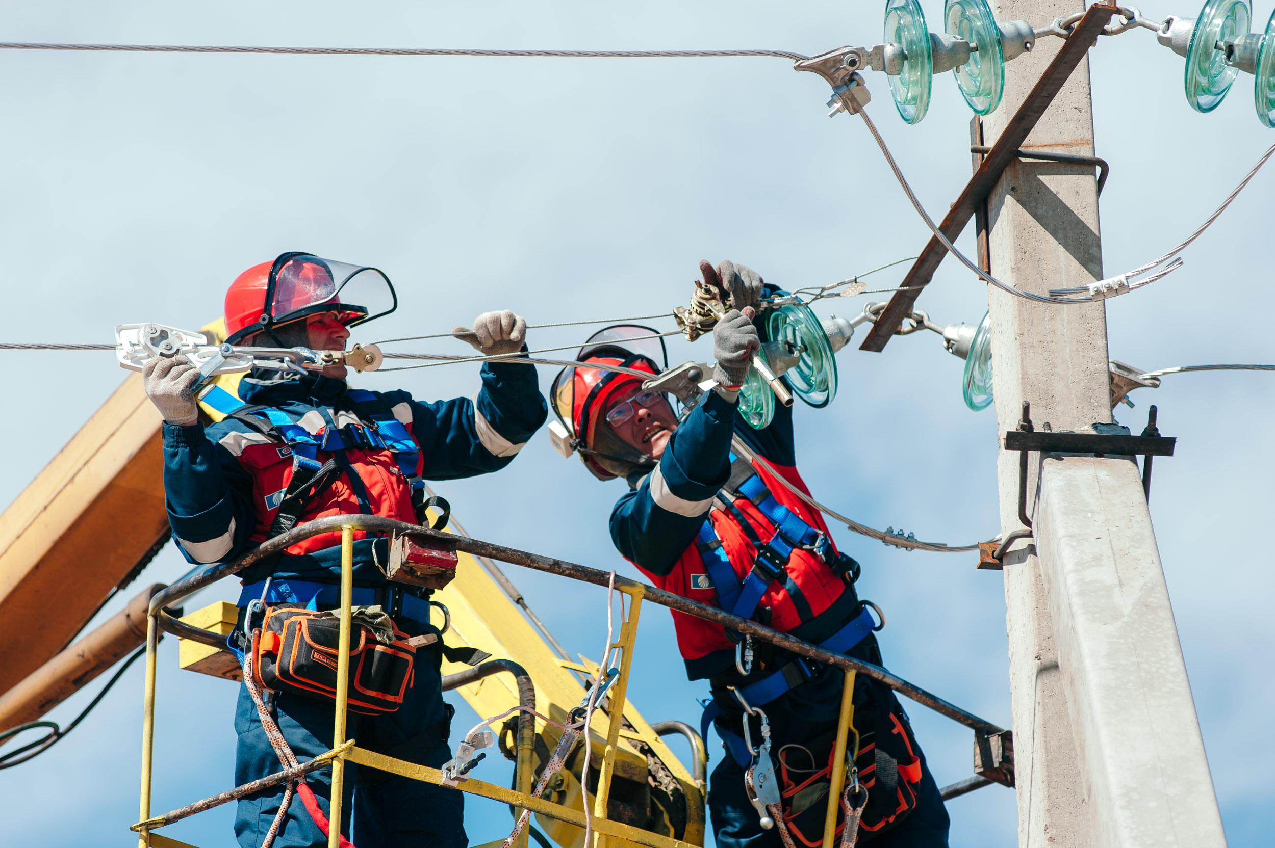 Красноярские энергетики приступили к основному объему ремонтов