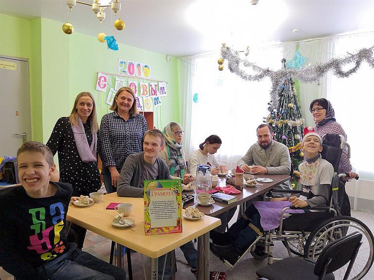 В Красноярске открыли  воскресную школу для «особых» детей