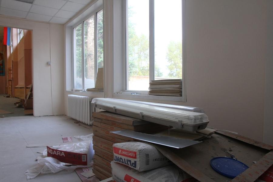В Красноярских спортшколах идет ремонт
