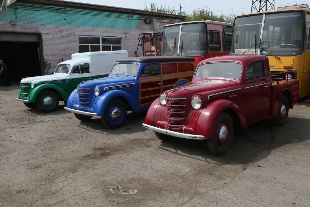 Красноярцам покажут легендарные ретро-автомобили