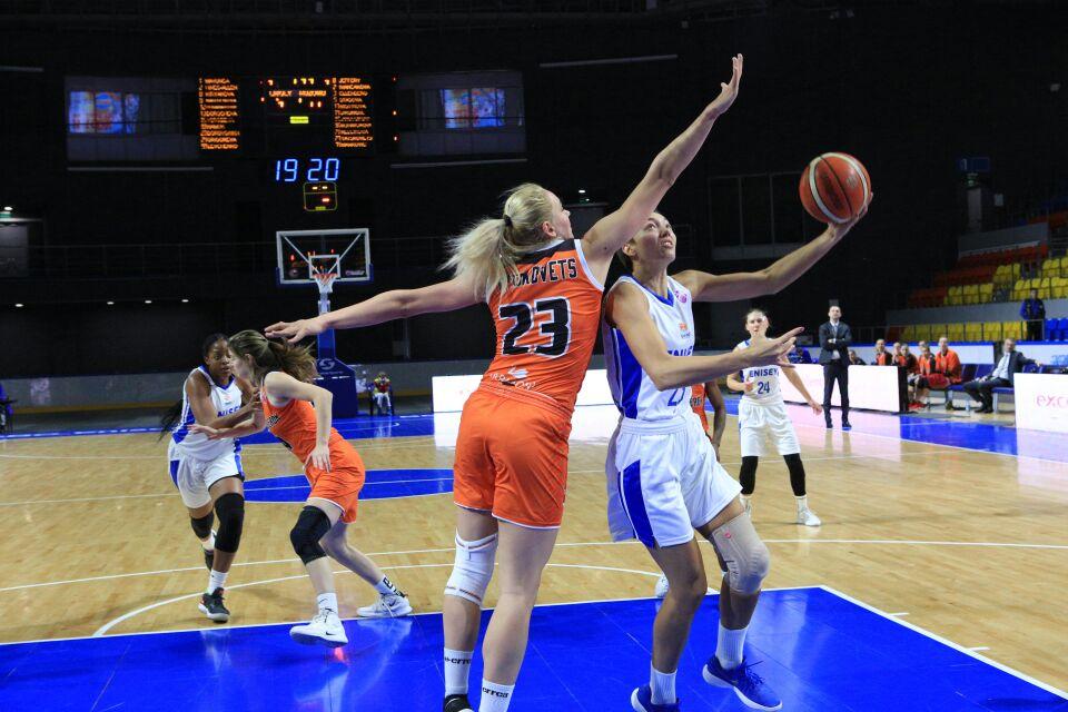 Баскетболистки «Енисея» вылетели из Еврокубка, несмотря на победу над «Ружомбероком»