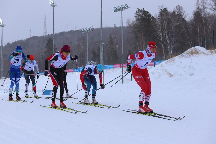 Красноярск принял первый этап Кубка России по лыжным гонкам